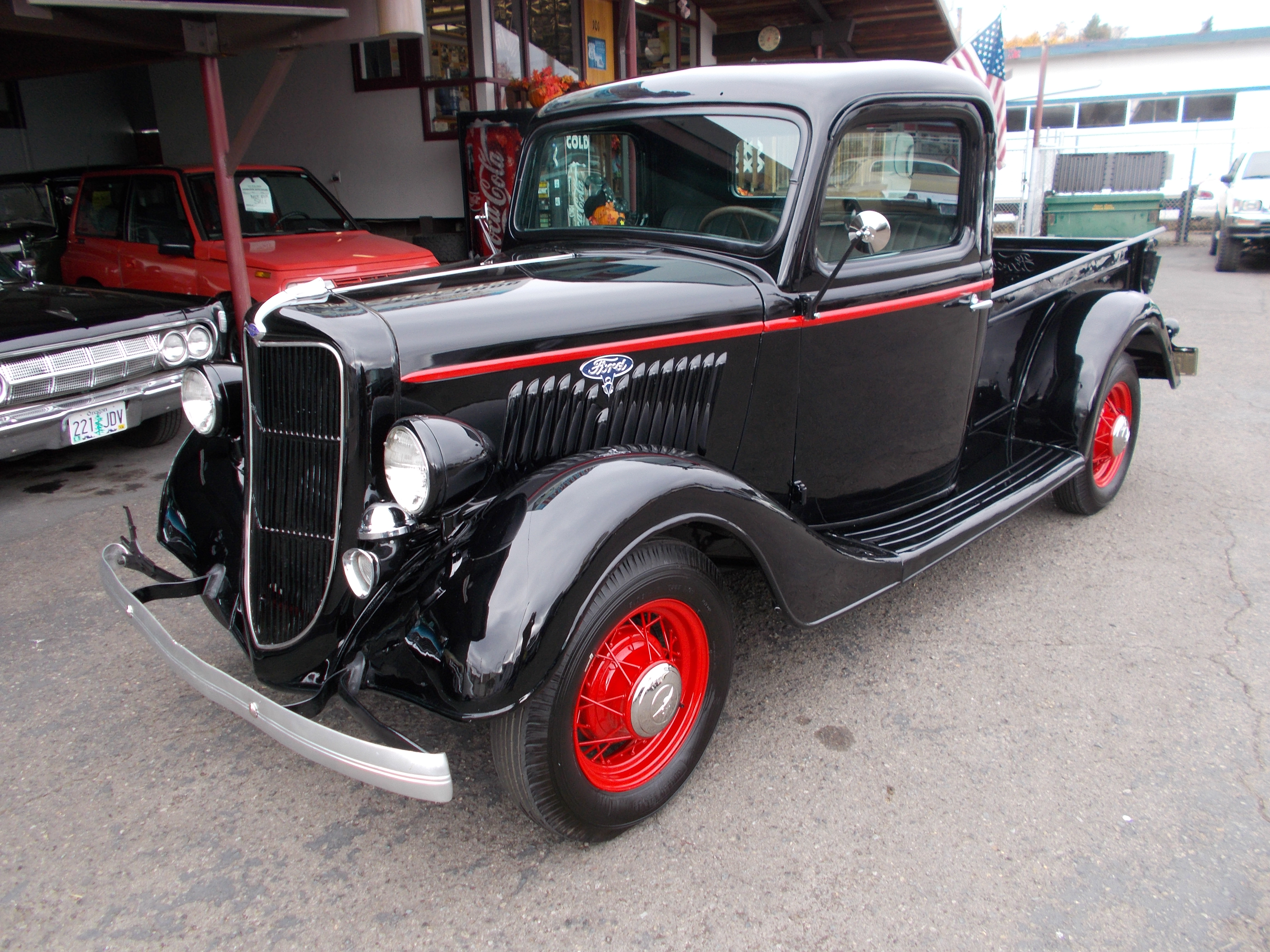 Hamilton Auto Sales 1941 Ford Panel Delivery Truck 1935 Pickup Restored All Stock Nice Flat Head V 8 Rebuilt 3spd Transmission The Owner It Trying To Keep As Close Original