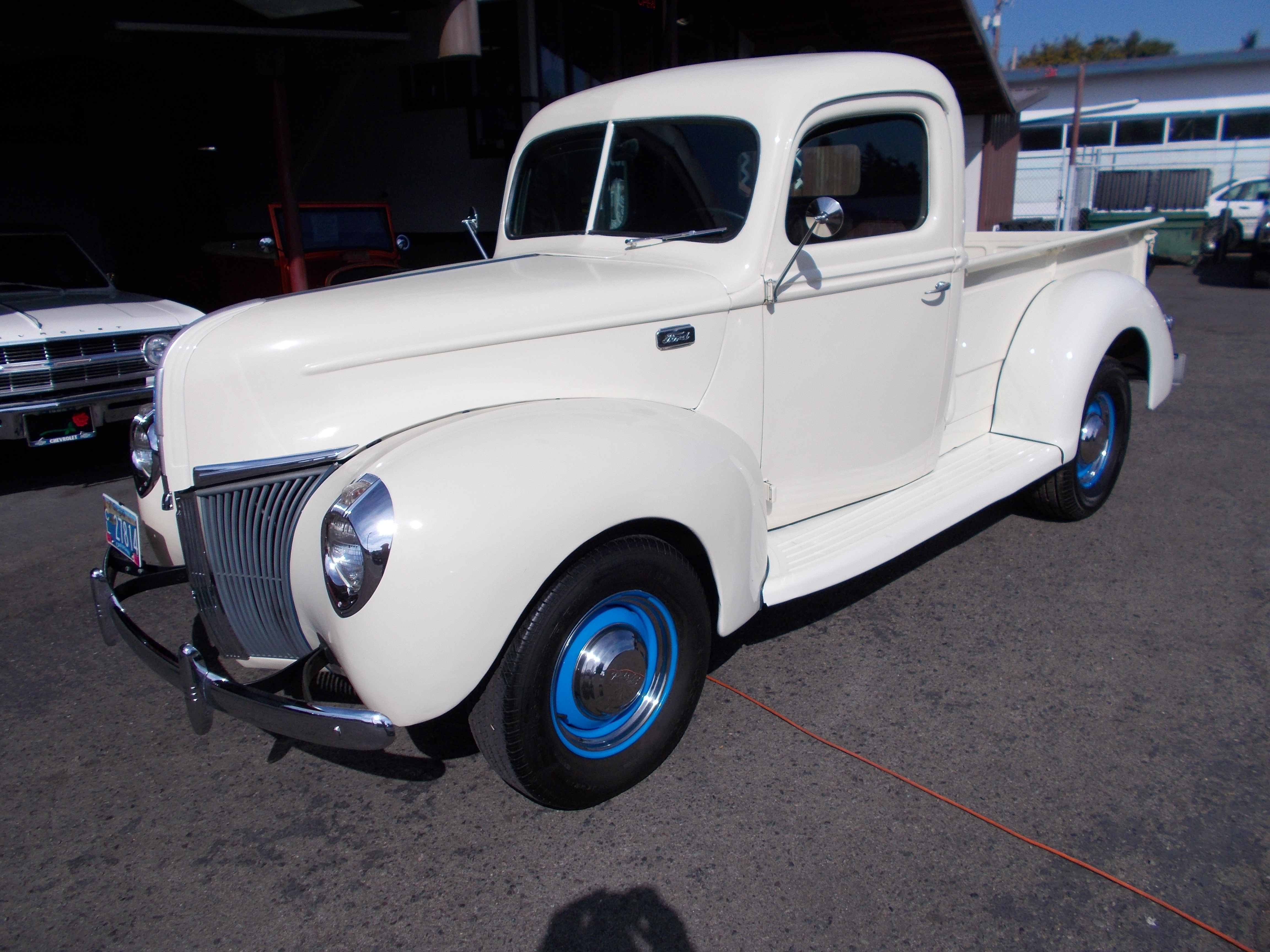 Hamilton Auto Sales 1955 Ford F100 Heater Parts 1941 Pu Restored Stock With Semi Hotrod Flat Head V 8 Original 3spd Transmission W 11 Inch Clutch And Running Gear Complete Motor Rebuild From