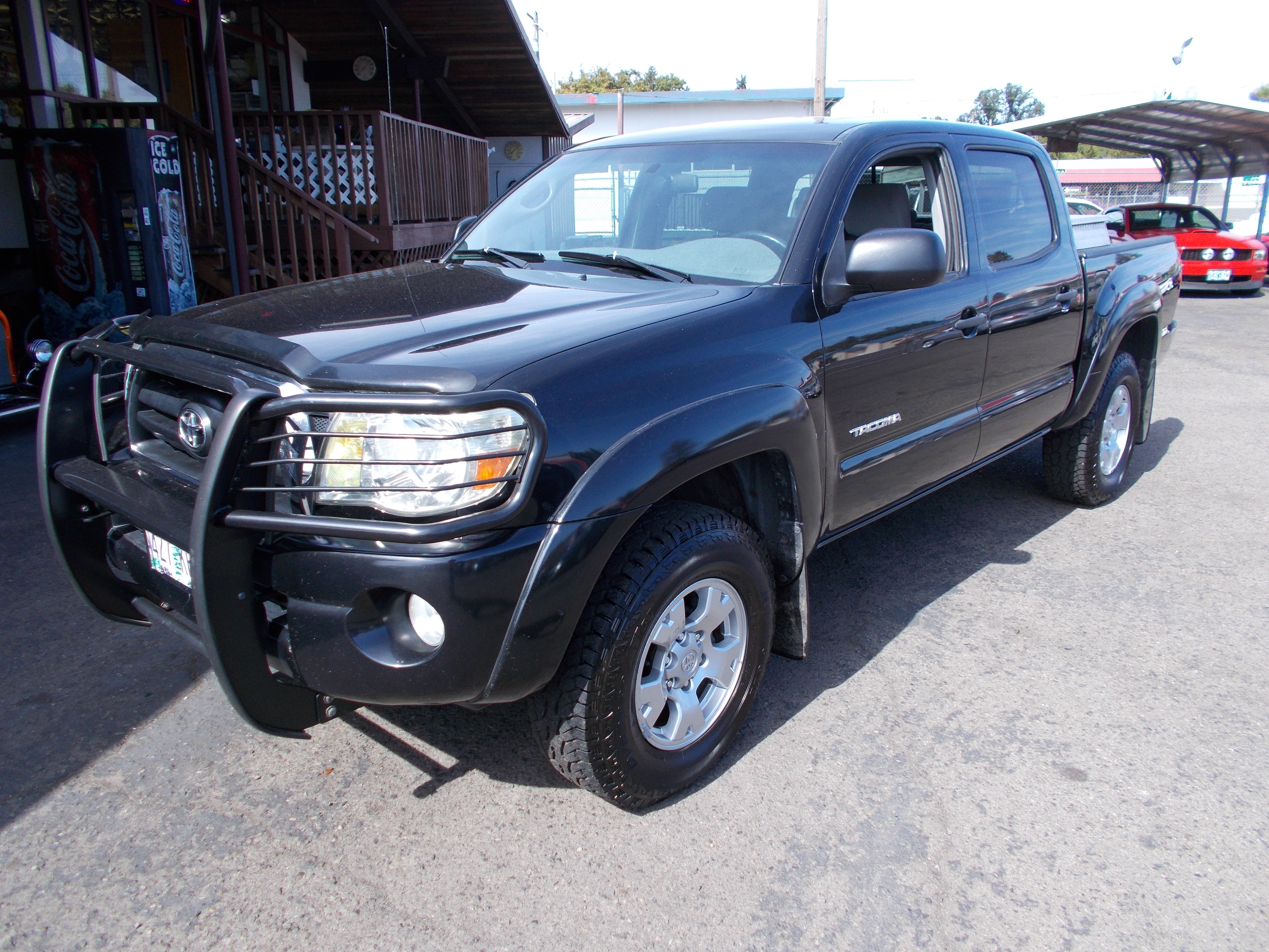 Hamilton 2005 Tacoma Fuel Filter Toyota Double Cab 4x4 40 Liter V 6 Auto Transmission 154828 Miles Real Clean Gray Cloth Interior Paint And Body In Very Good Condition